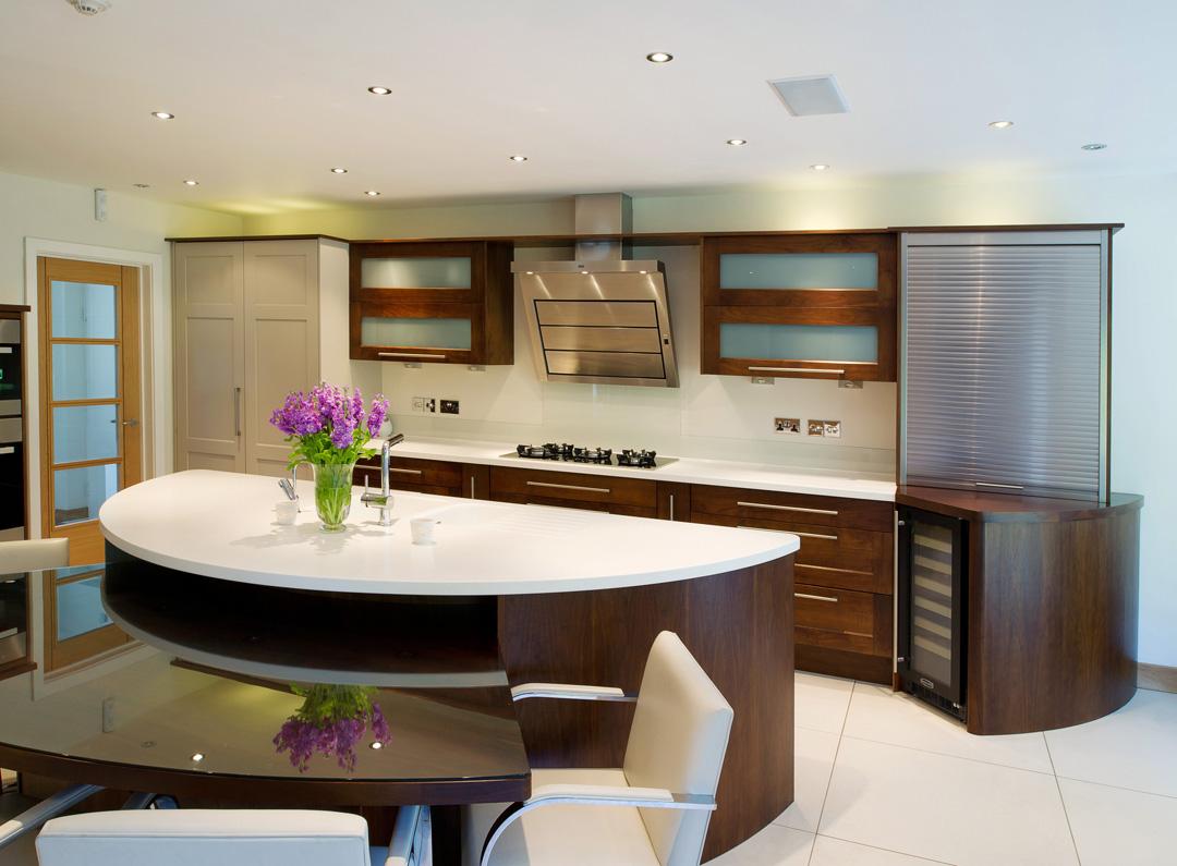 Kitchen design project alternative images - Closed kitchen design ...