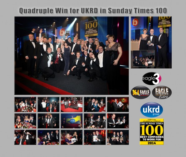 UKRD Win Sunday Times Awards